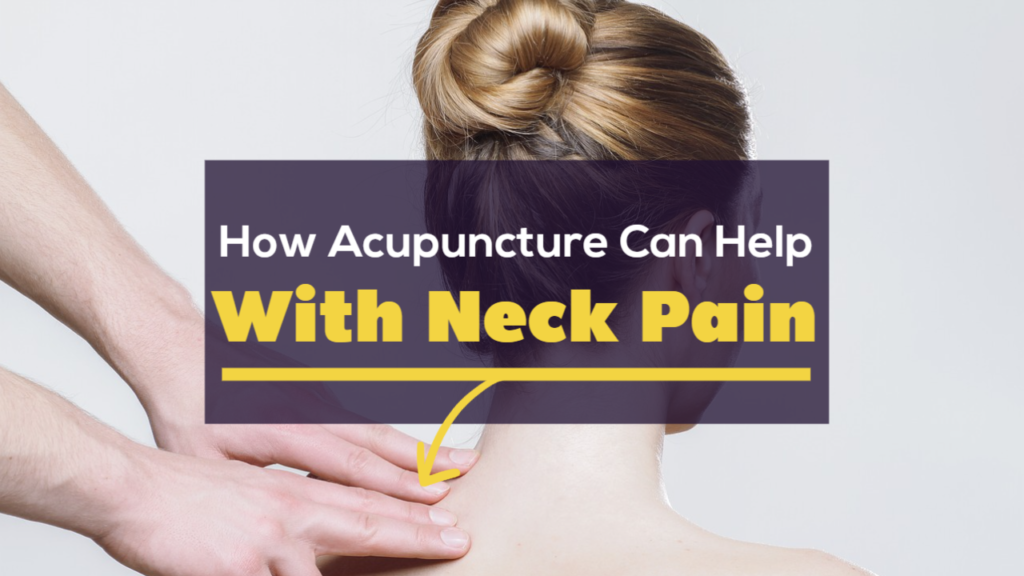 acupuncture for neck pain