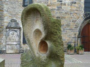 ear sculpture-